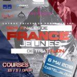 Demi-finale Sud-Ouest du championnat de france de triathlon jeune 2018