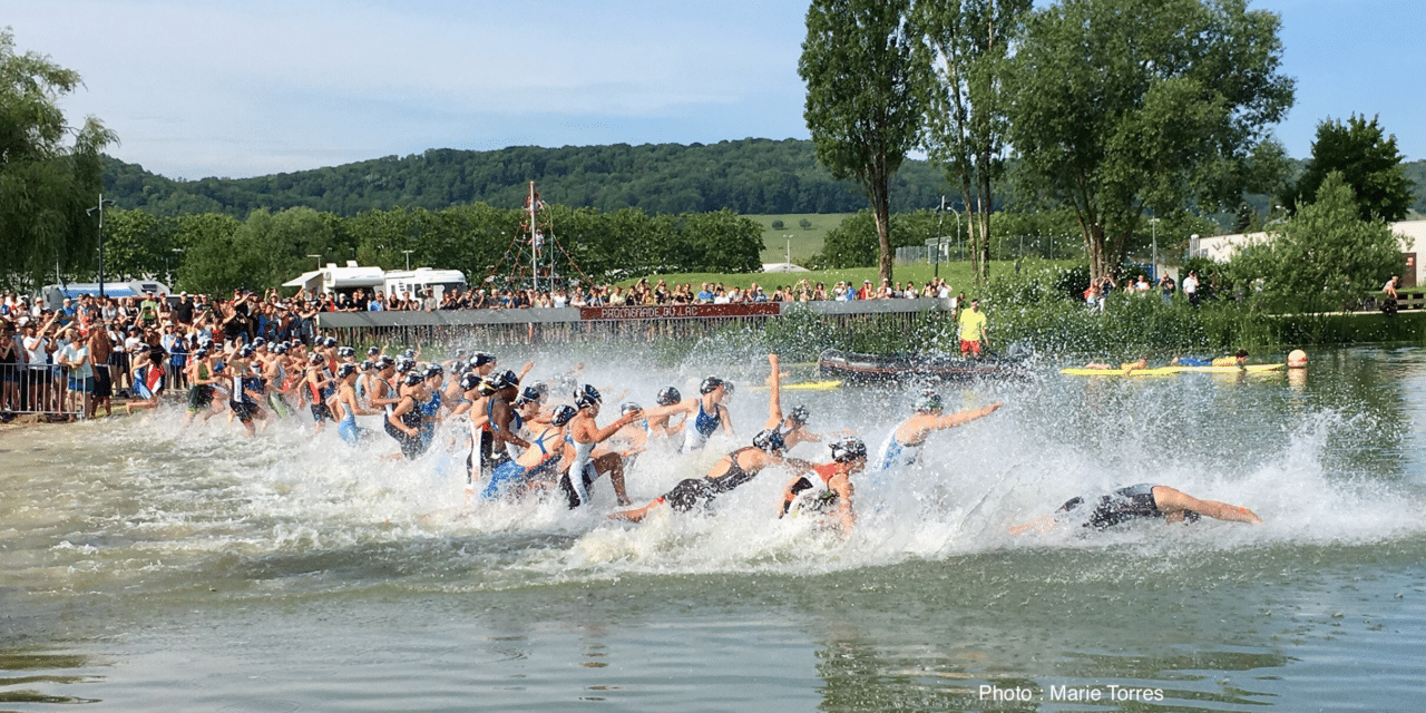 Championnat de France Triathlon Jeunes à Vesoul