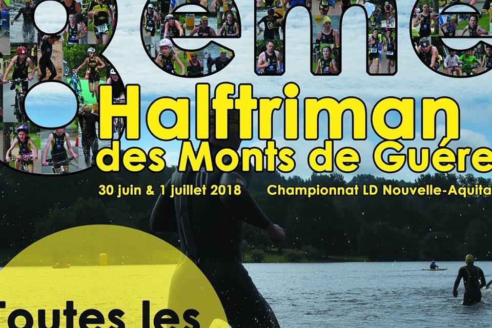 Championnat de Nouvelle-Aquitaine de Triathlon Longue Distance 2018 à Guéret le 1er juillet 2018