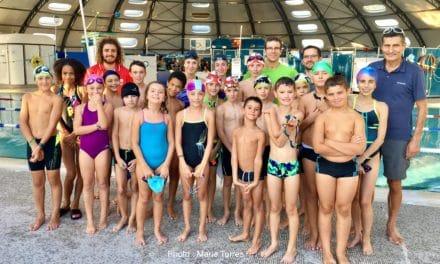 Visite de l'école de triathlon labellisée de Saint-Astier
