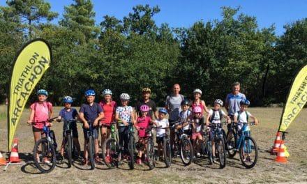 Tri Arcachon Sud Bassin accueille les jeunes triathlètes