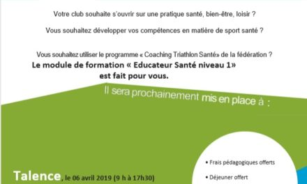 Formation au Coaching Triathlon Santé