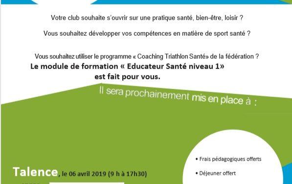 Formation au Coaching Triathlon Santé