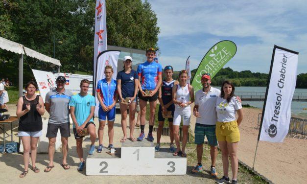 Championnat de Nouvelle-Aquitaine de Triathlon Jeunes à Brive le 23 juin 2019