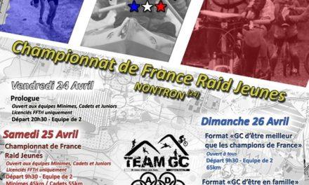 Appel à candidature manches et Championnat de France Raid 2020-2021