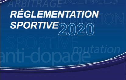 Réglementation sportive 2020