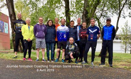 Formation au Coaching Triathlon Santé niveau 1 // Samedi 6 avril 2019