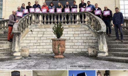 Poursuite de la formation BF4 : les stagiaires au travail au CREPS de Toulouse