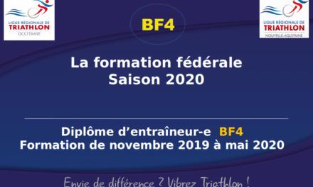 Les lauréates et les lauréats 2020 de la formation BF4 Grand Sud-Ouest