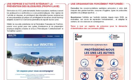 GUIDES DE REPRISE : CLUB, ENCADRANT.E, PRATIQUANT.E