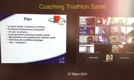 Formation Coaching Triathlon Santé Niveau 1 du samedi 27 mars