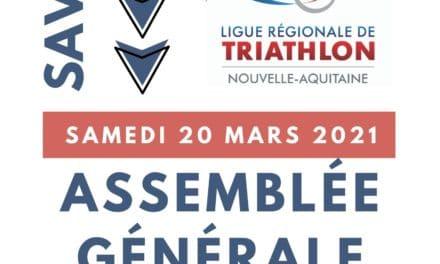 Assemblée Générale Élective de la Ligue Nouvelle-Aquitaine de Triathlon