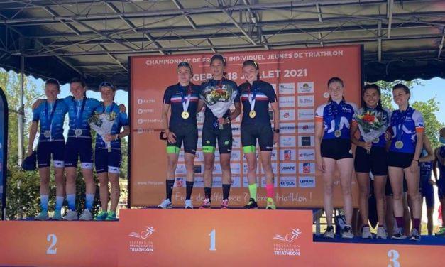 Championnat de France de Triathlon Jeunes 2021 à Angers