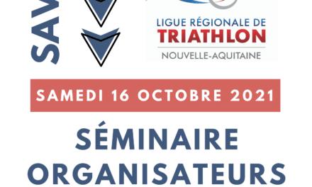 Séminaire des organisateurs // Samedi 16 octobre 2021