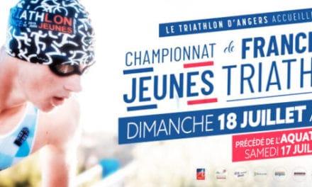Championnats de France de Triathlon Jeunes à Angers, les néo-aquitains seront au rendez-vous