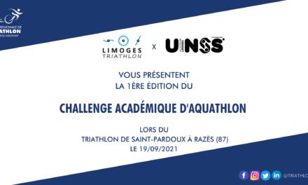 1ère Edition du Challenge Académique d'Aquathlon