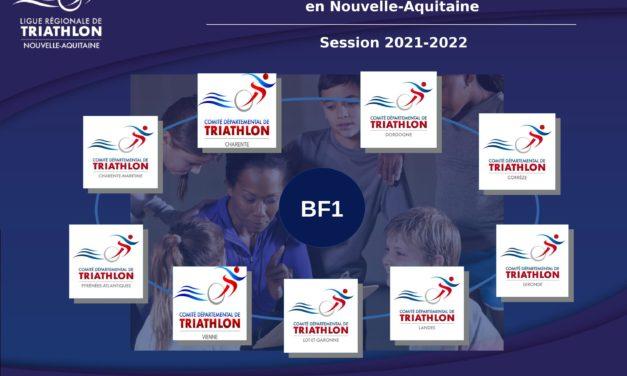 Présentation sessions du Brevet Fédéral de niveau 1 (BF1) saison 2021/2022