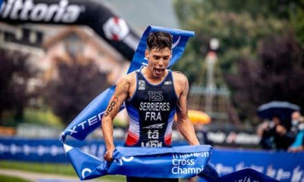Arthur Serrières taille XXL – Championnat d'Europe de Cross Triathlon 2021